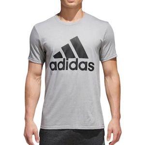 Large Gray Adidas Top